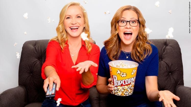 Jenna Fischer and Angela Kinsey are launching a podcast for fans of 'The Office.'