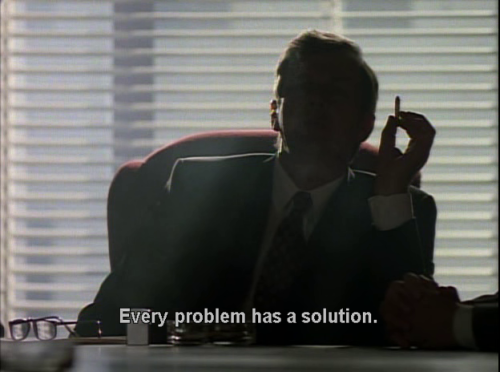 cigarette smoking man on Tumblr