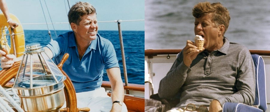 John F. Kennedy's Ivy League Style » BAMF Style