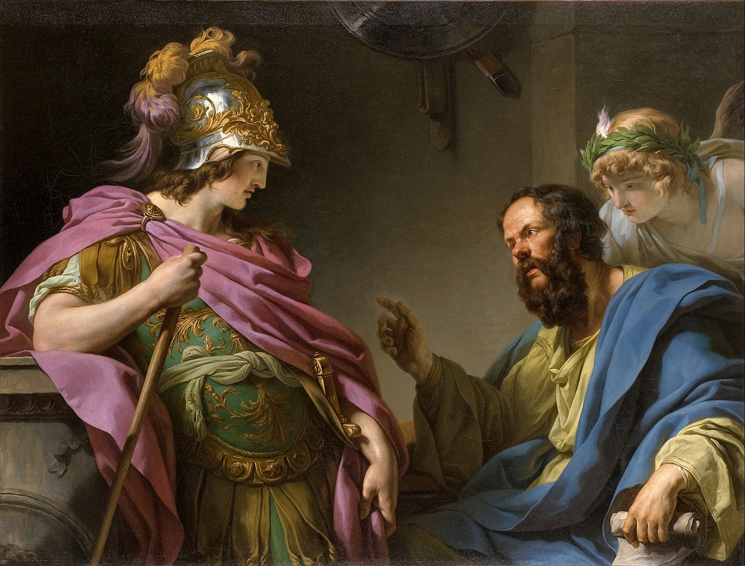 File:Alcibades being taught by Socrates, François-André Vincent.jpg -  Wikipedia