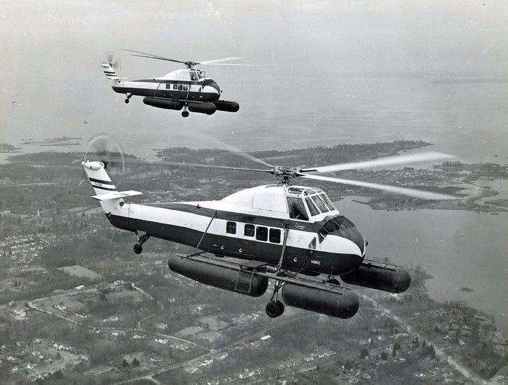 Sikorski S-58 | Image courtesy of sikorskyarchives.com.