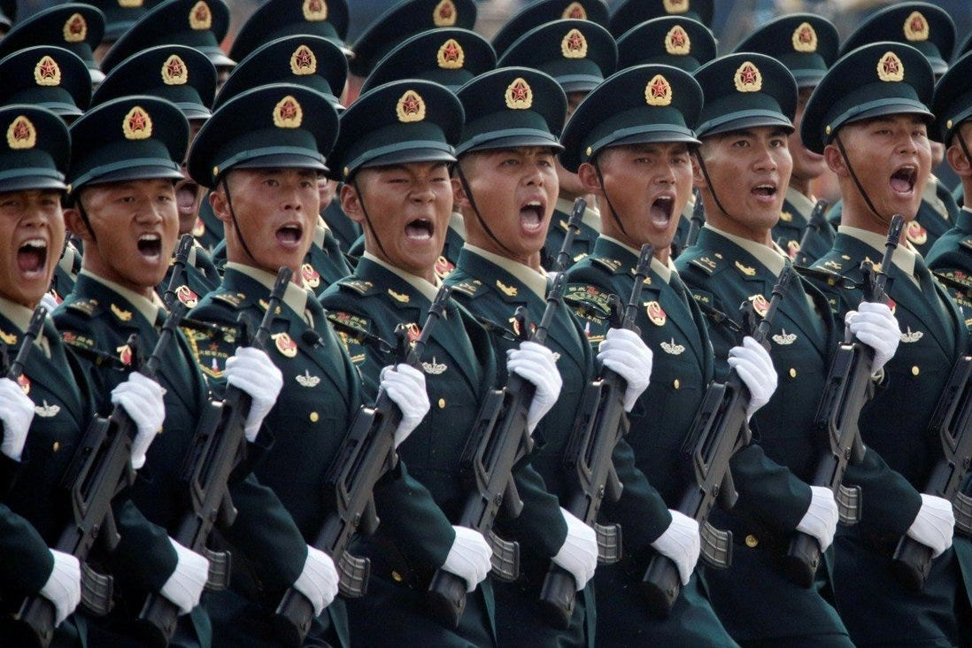 China's People's Liberation Army should use current conflicts to polish its troop capabilities, according to new year orders issued by Chinese President Xi Jinping. Photo: Reuters
