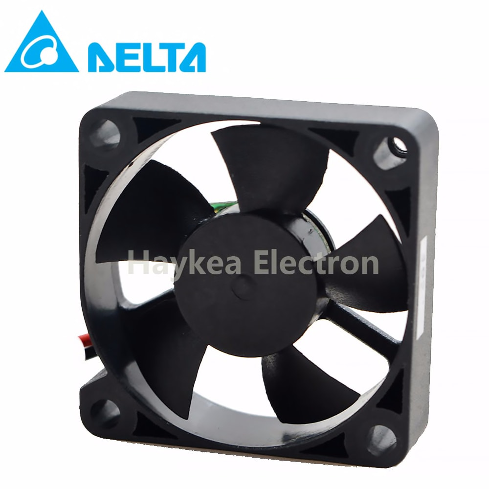 For Delta AFB03505LA Double Ball Bearing Axial Fan DC 5V 0.09A 3510 35*35*10mm 2 Lines