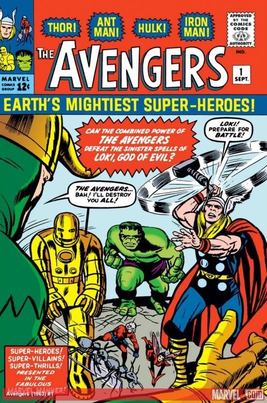Avengers (1963) #1 | Comic Issues | Marvel