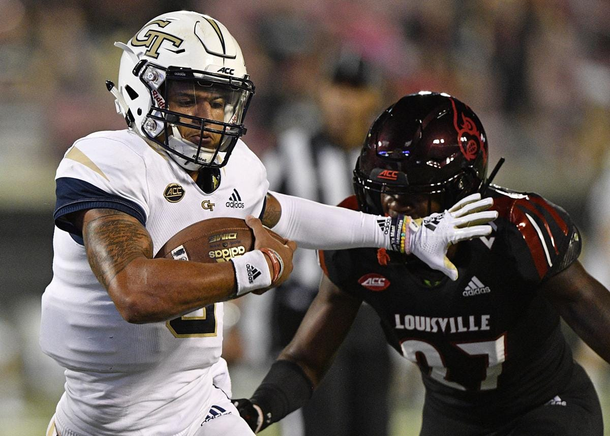 Image result for 2018 louisville georgia tech