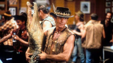 High-profile Australian films such as Crocodile Dundee are bought by streaming services, while lesser-known films struggle.