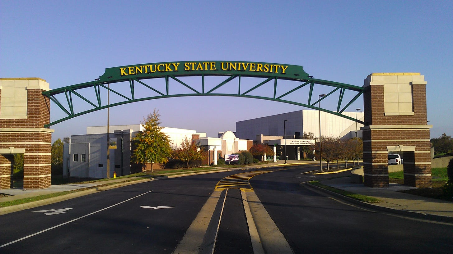 Kentucky State University Gateway & Guardhouse – Marrillia Design &  Construction