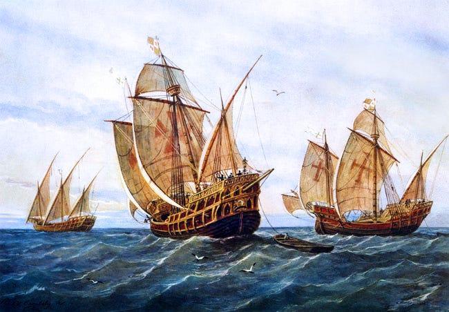 The Story of Columbus' 3 Famous Ships - Niña, Pinta, and Santa Maria