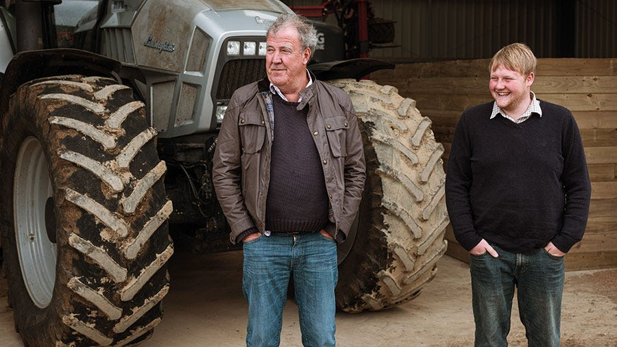 Video: What's in Your Shed? visits Jeremy Clarkson's 400ha farm - Farmers  Weekly