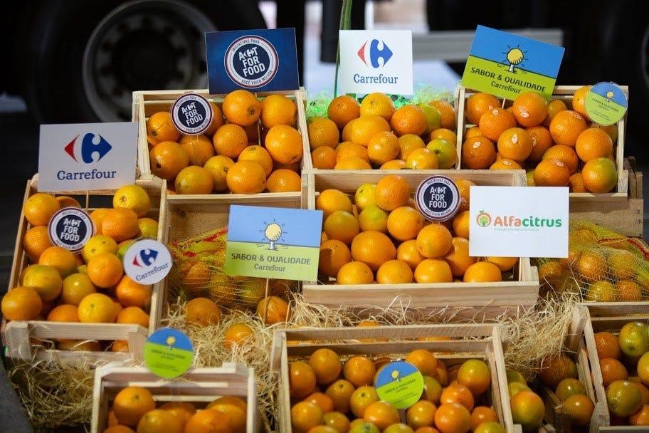 Carrefour expande linha sustentável de laranjas e uso de blockchain |  Mercado&Consumo
