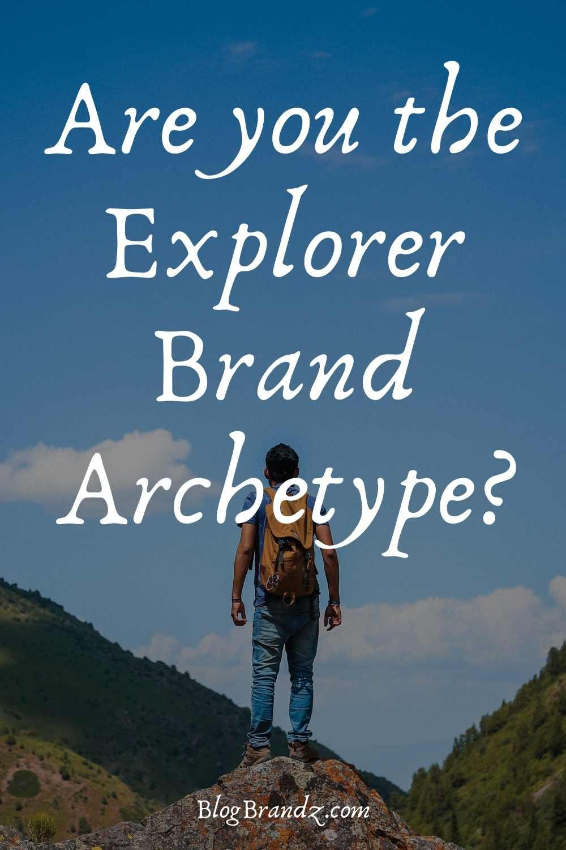 Brand Archetype Explorer