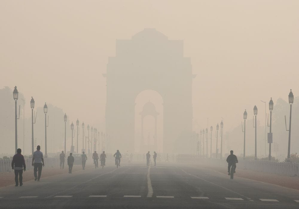 Why Delhi Is Becoming the Smog Capital of The World: QuickTake - Bloomberg