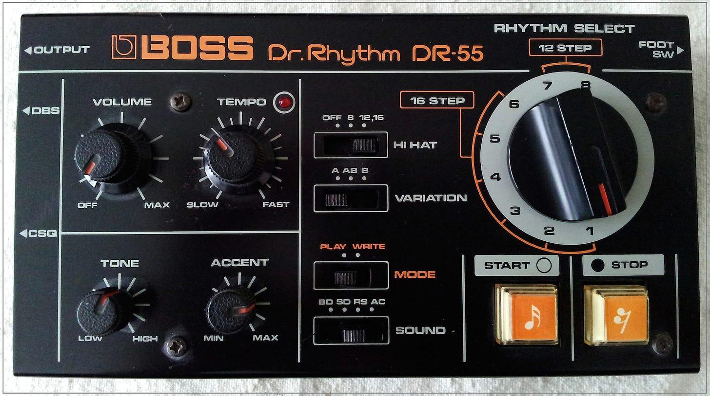 Boss DR-55: an overview | synthnerd