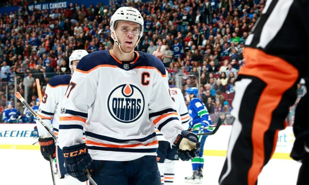 Oilers' Connor McDavid wants 'more consistency' with NHL playoff  officiating; still hopes to play in Olympics – The Athletic