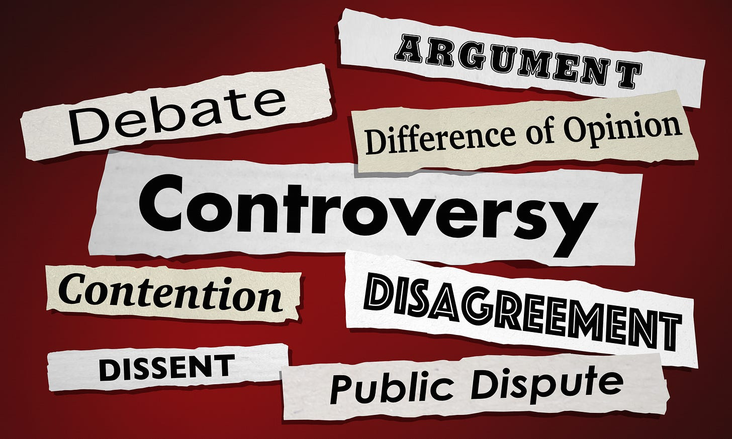 Controversial headlines are a byproduct of the Conflict Machine.