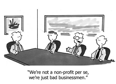 Cartoon – Not a Non-Profit Per'se | HENRY KOTULA