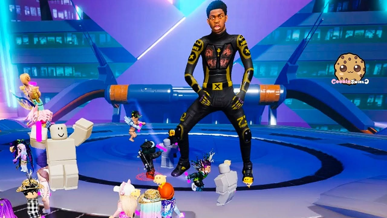Image result for lil nas x roblox