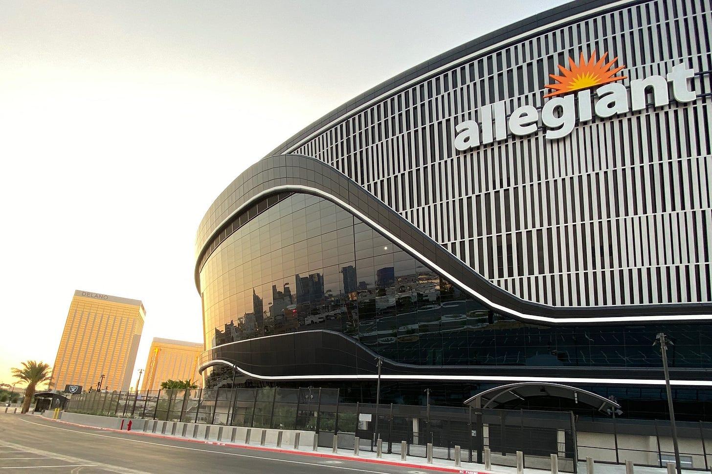 Vegas Raiders stadium