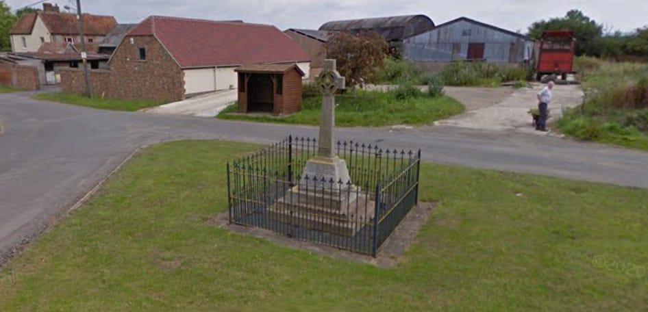 War memorial, Moreton, Oxfordshire