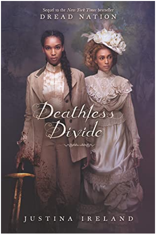 book cover of Deathless Divide by Justina Ireland