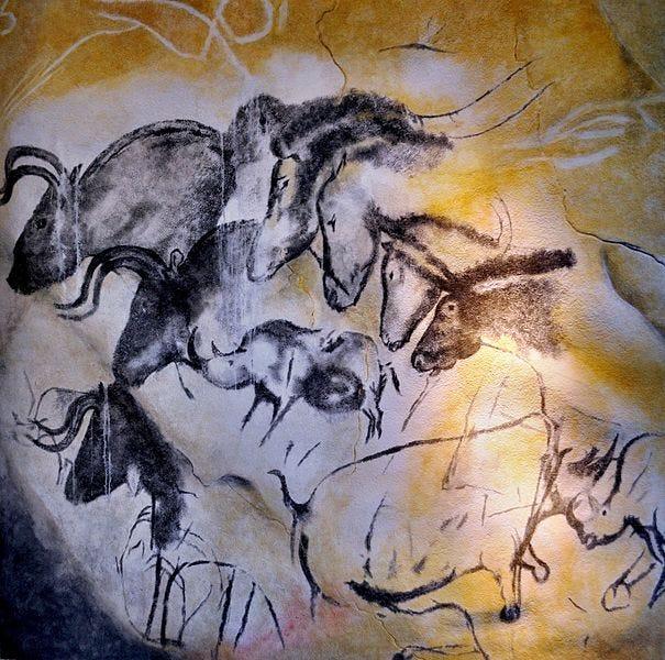 Bestand:Etologic horse study, Chauvet cave.jpg - Wikipedia