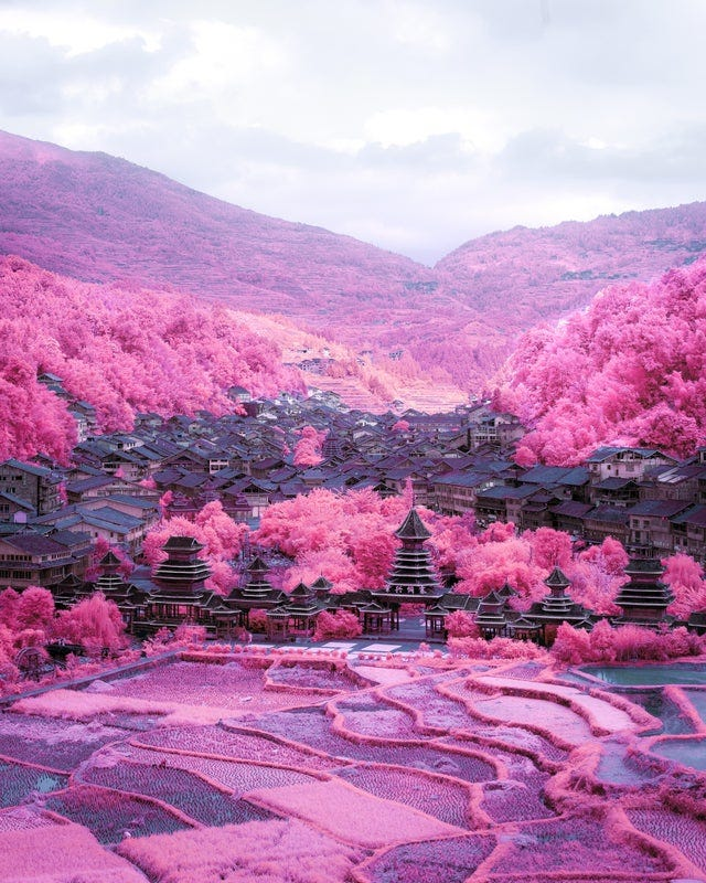 r/itookapicture - ITAP with a infrared camera in Zhaoxing, Guizhou