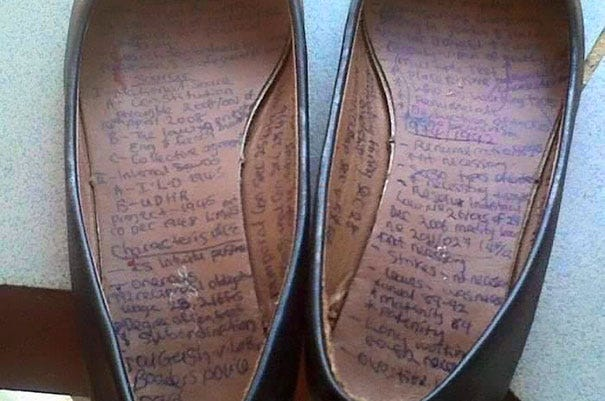 Creative Use Of Shoes