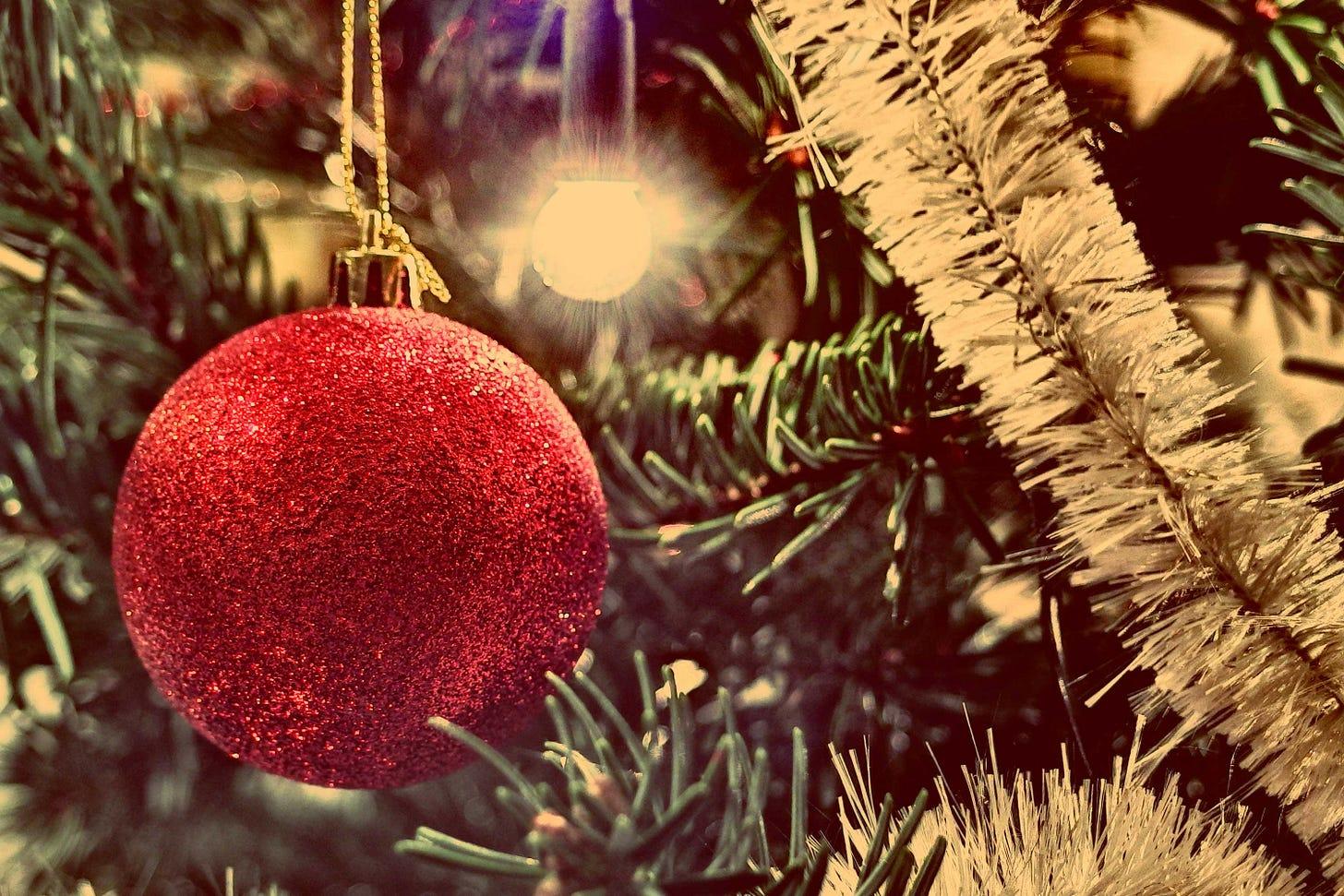 Christmas Baubles | Free Stock Photo | LibreShot