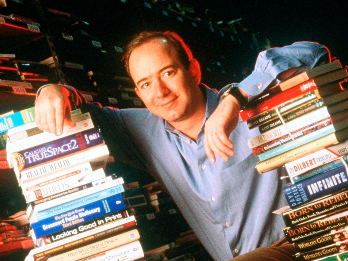 Young Jeff Bezos Video Shows Why He Built Amazon Empire on Books