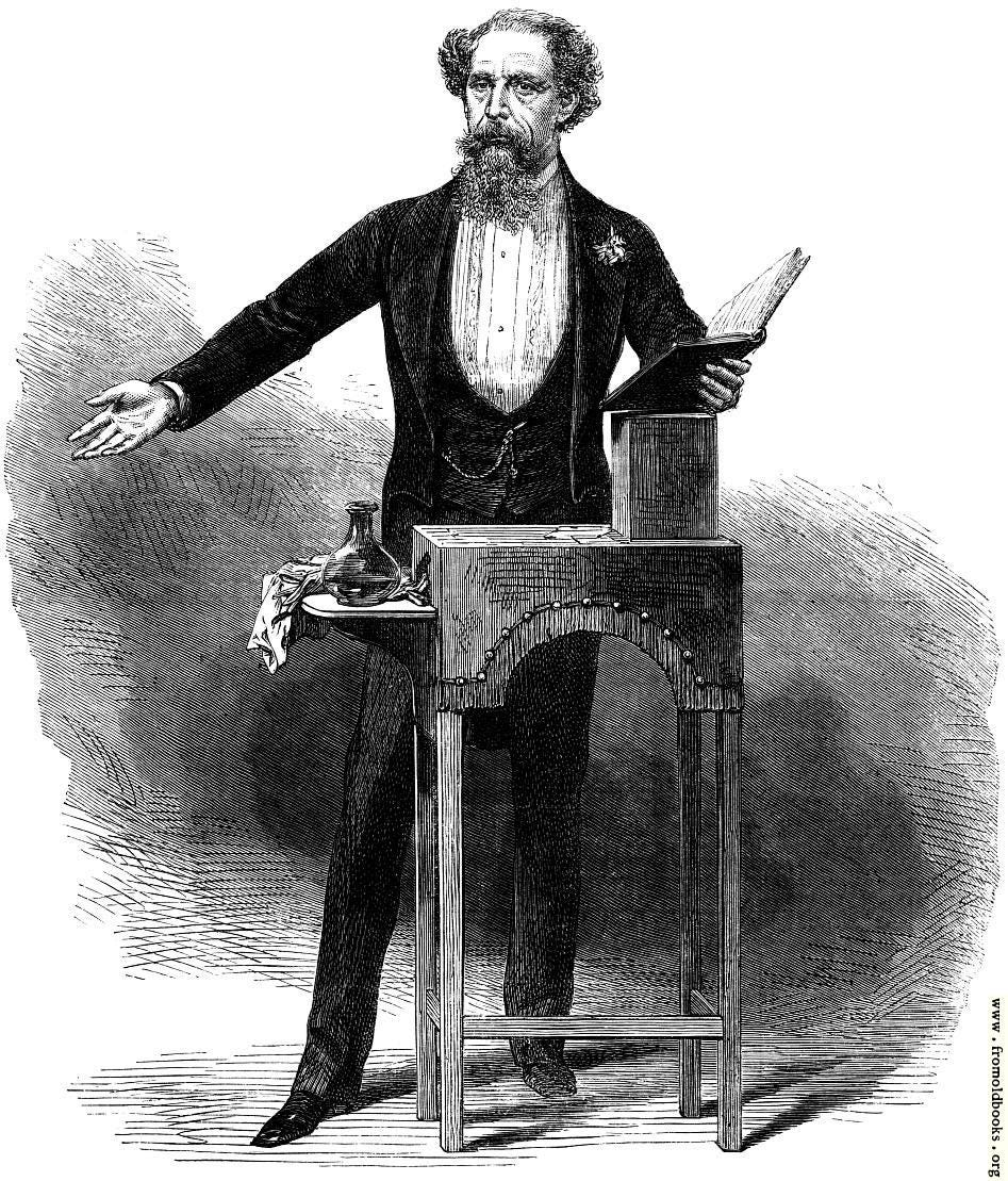 [Picture: Mr. Charles Dickens's Last Reading.]
