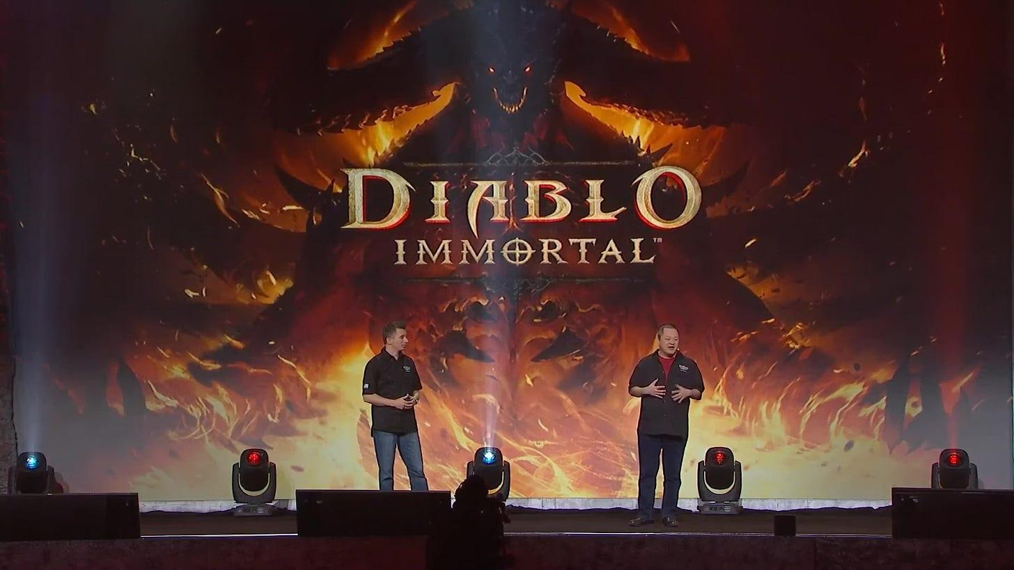 BlizzCon 2018 Diablo Immortal Q&A Panel Transcript