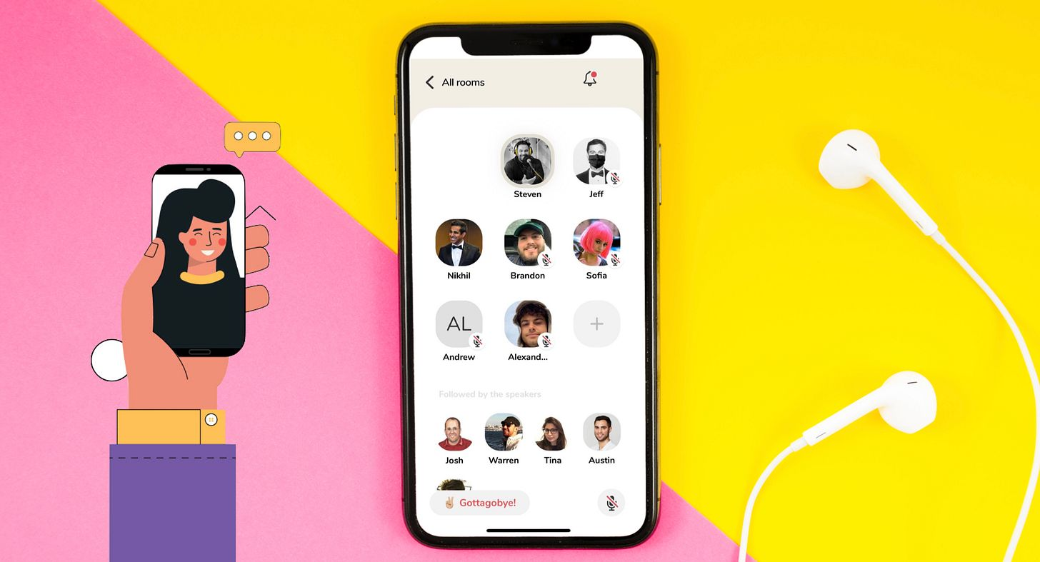 Clubhouse voice chat leads a wave of spontaneous social apps ...