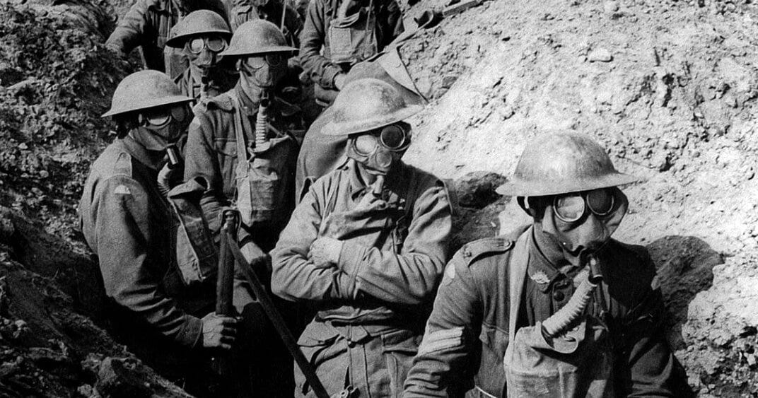 The WW1 Gas Mask in the trench warfare infrerno - GazDetect Blog