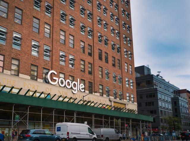 Google's NYC office, taken Sept 21 2017