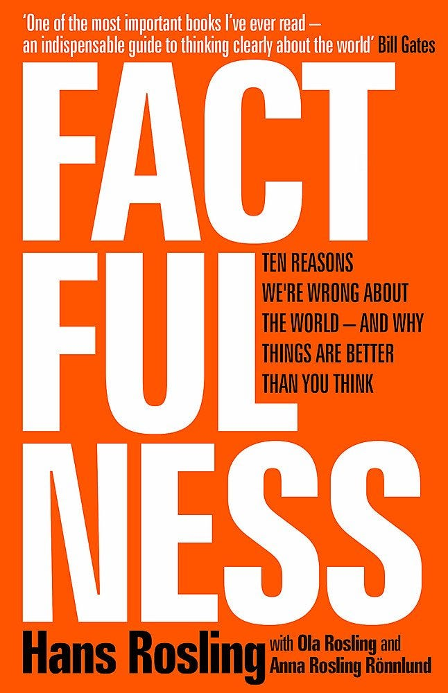 Factfulness: Ten Reasons We're Wrong About The World - And Why Things Are  Better Than You Think: Amazon.co.uk: Hans Rosling;Ola Rosling;Anna Rosling  Rönnlund: 0001473637465: Books