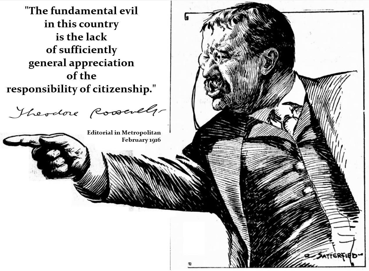 theodore_roosevelt_pointing_cartoon_black_and_white_via jamesstrock.substack.com