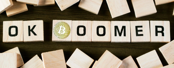 Image result for boomer and bitcoin