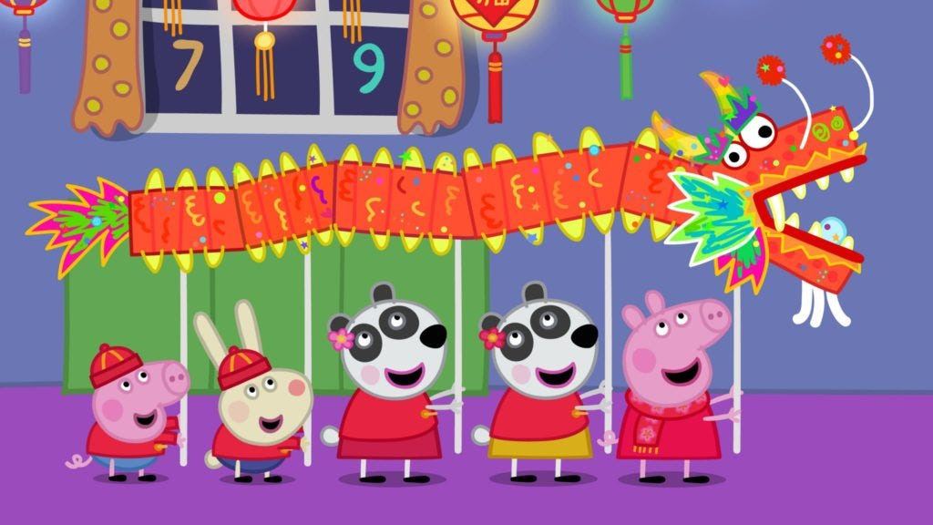 eOne's Peppa Pig is a hit in China