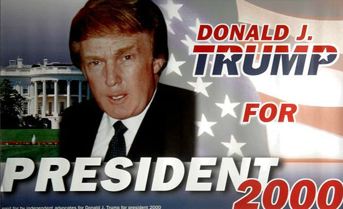 Artist, Donald Trump Stalker Predicted Presidential Bid | artnet News