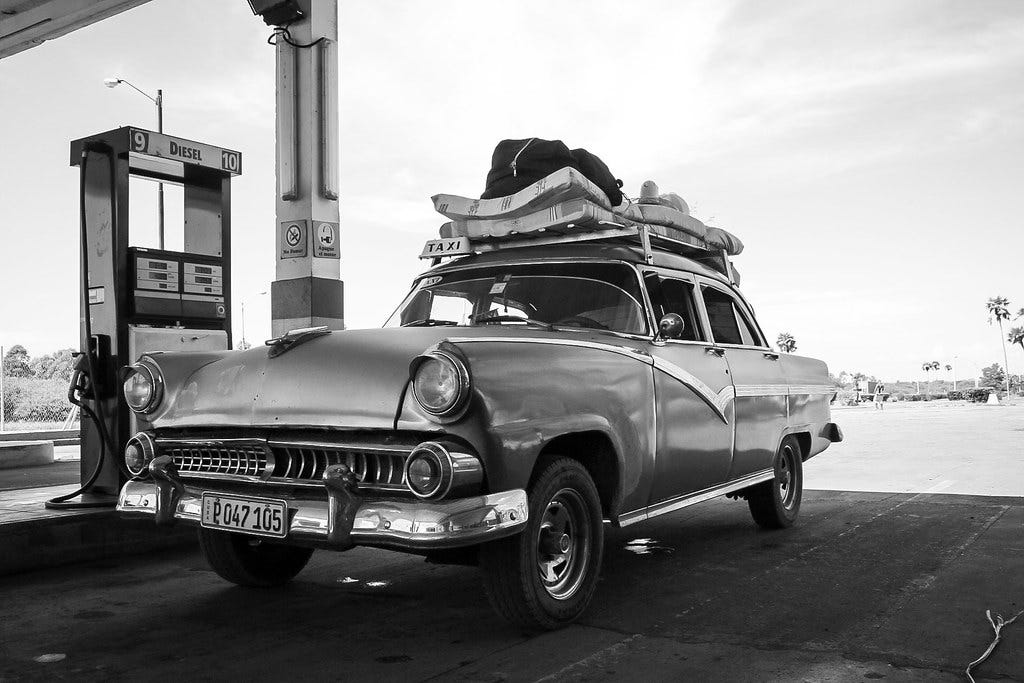 """""""Cuba cars V"""" by armingruber is licensed under CC BY 2.0"""