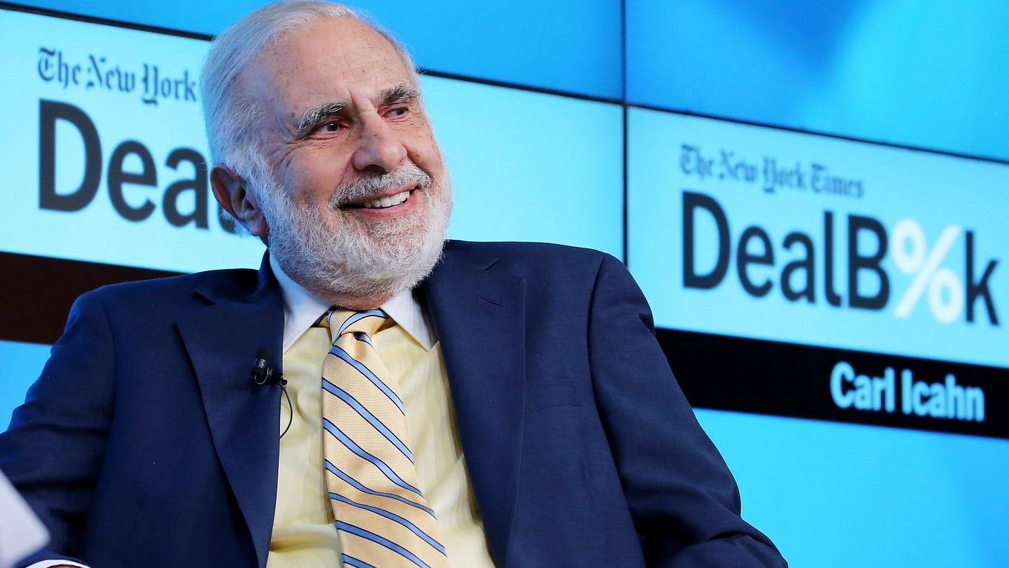 Investor Carl Icahn Says He May Put $1Bn in Crypto After Calling It  'Ridiculous'