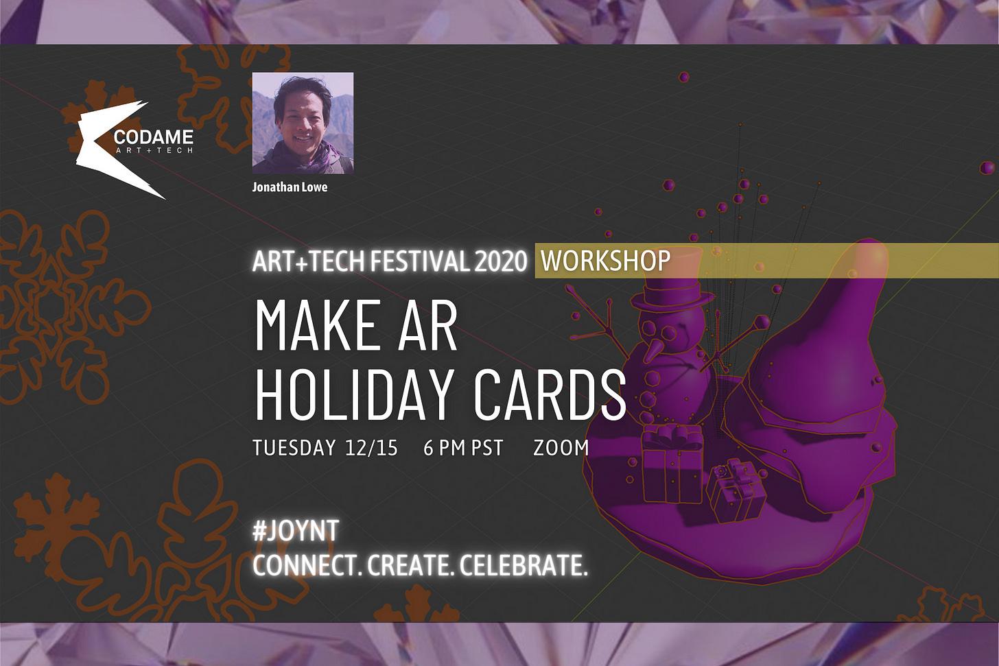Make AR Holiday Cards