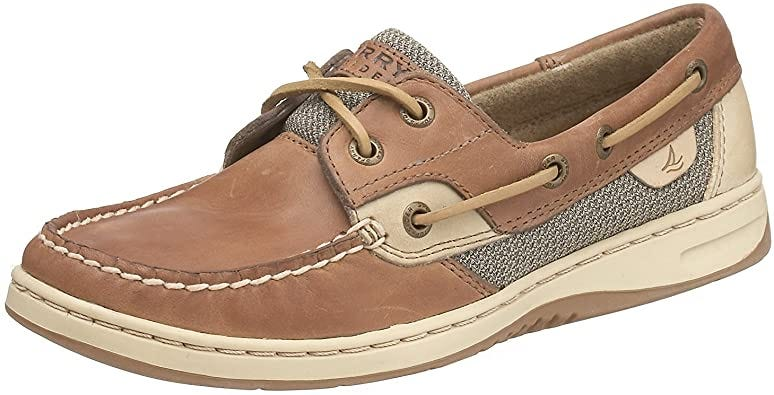 Amazon.com   Sperry Womens Bluefish Closed Toe Boat Shoes   Loafers &  Slip-Ons