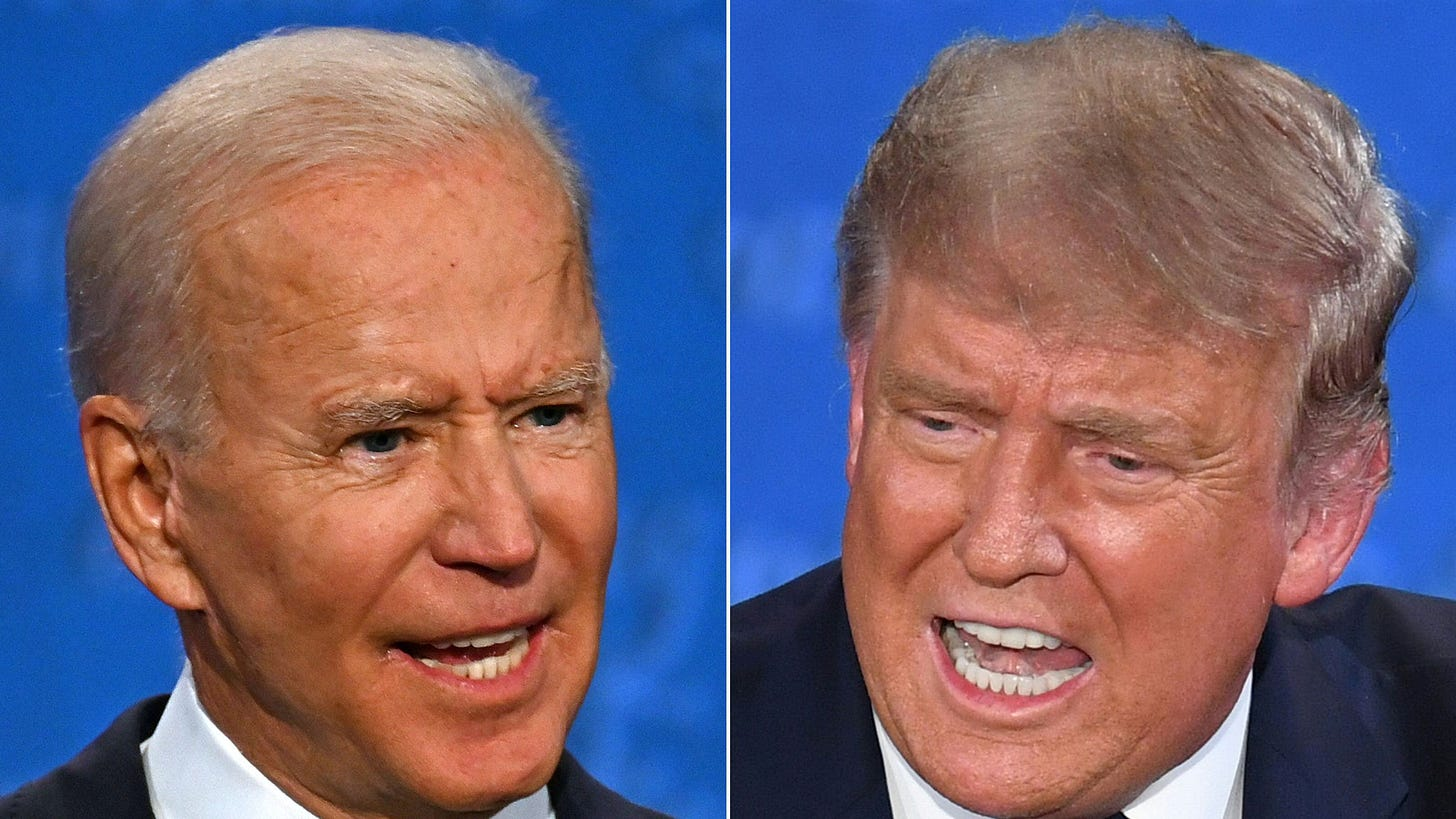 Presidential debate: our experts' insights from the Trump-Biden duel — as  it happened | Financial Times