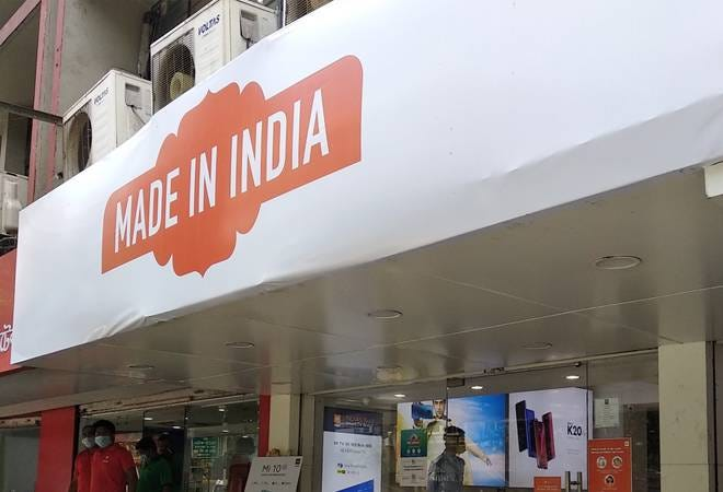 Xiaomi covers stores with 'Made In India' banners as calls for 'Boycott Chinese products' grow stronger