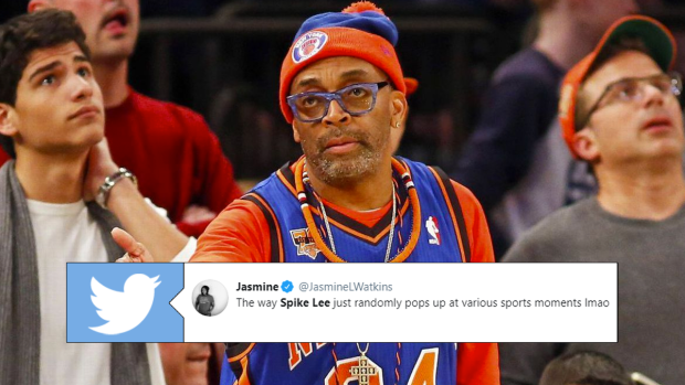 Spike Lee provided a truly out-of-nowhere cameo during the NBA Draft -  Article - Bardown