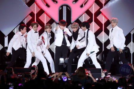 BTS announces a series of Korean lessons for fans.