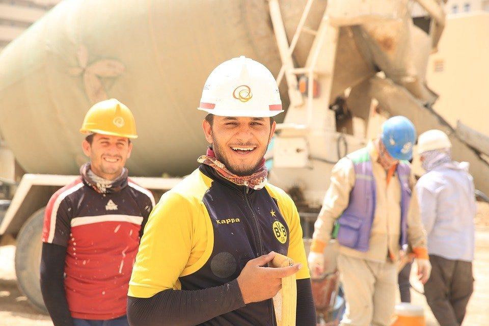 Bau, Arbeitnehmer