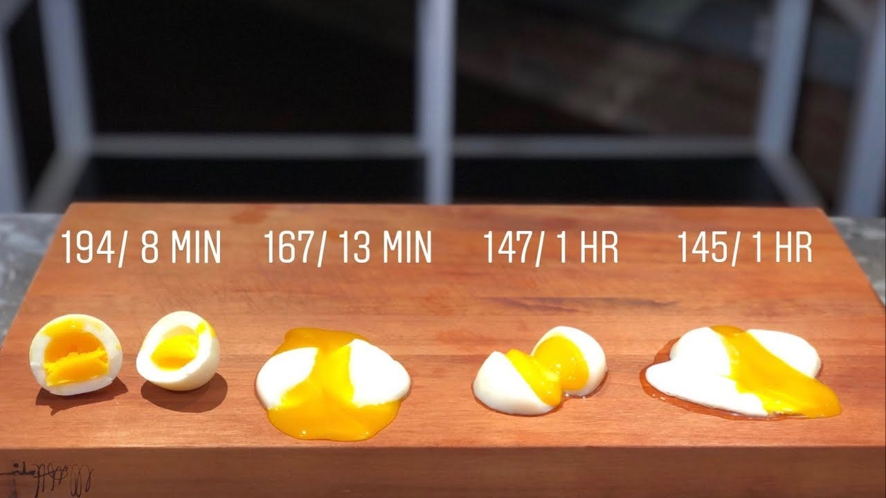Image result for sous vide poached eggs