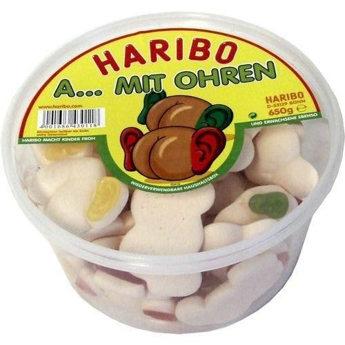 Haribo & # 34; A ... with ears & # 34;  Jar 650g